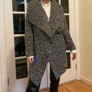 H&M divided coat